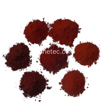 Couleur de ciment de colorants de pigment de fer d'oxyde rouge