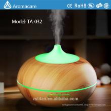 Aroma-ätherischer Öl-Diffusor 300ml, neuer Holzmaserung-Ultraschall-kühler Nebel