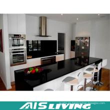 Pequeños muebles de armarios de cocina con diseño de cuarzo (AIS-K187)