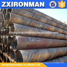 grande diâmetro espiral tubulação de aço soldada à venda