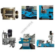 CE Multifunctional Bench Drilling Milling Lathe (AT320)