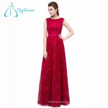 A-Line Lace China Vestido de noche largo personalizado