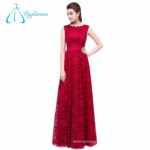 A-Line Lace China Custom Long Evening Dress