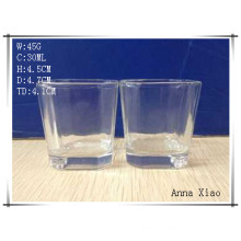 30ml Glass Cup with Suqare Mouth