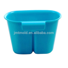 Varios estilos Customized Combo Hanging Baskets Molde plástico de la cesta