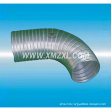High quality semi-rigid aluminum flexible duct for ventilation