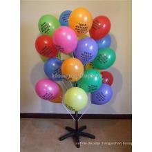 Free Design Simple Multi-Layer Toys Retail Store Black Metal Floorstanding Balloon Display Stand