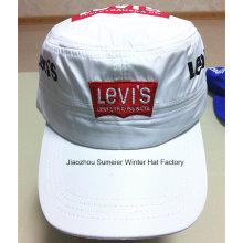 Cheap High Quality Flat Peak Cap Embroidered Sport Baseball Hat