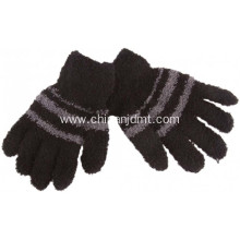 Kid's Cozy Stripe Gloves