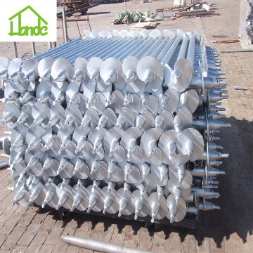 Honde Screw Pile como base