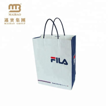 Heavy Duty Luxury Clothing Packaging Custom Made Logo Printed Kraft Paper Hand Bag