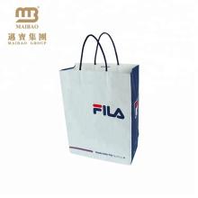 Тяжелые Роскошные Одежды Упаковка На Заказ Логос Напечатанный Kraft Бумажный Мешок Руки