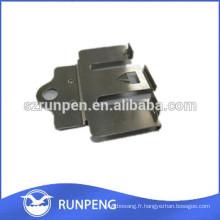 Pièce d'estampage métallique personnalisée en vrac en aluminium