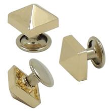 Remache del bolso de la nuez del botón a presión del metal de encargo
