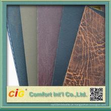 Estoque de couro do PVC da alta qualidade