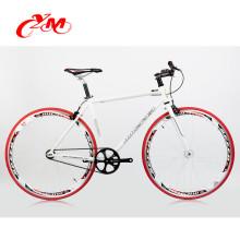 Colorful fixie gear bike/wholesale price bicycle aluminium alloy rims/cheap fixie gear bike