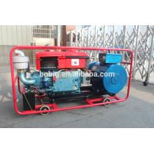 Generador diesel refrigerado por agua del cilindro simple de 10kW