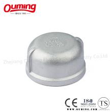 Verschraubter Edelstahl / Carbon Steel Round Cap