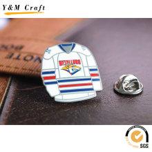 Customized T Shirt Metal Soft Enamel Breast Lapel Pin Badge