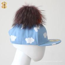 Prix de gros de l'usine Cute Blue Childrren Baseball Cap For Kid