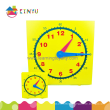 Plastic Classroom Clock for Demonstration in Class