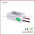 Approbation de la CE 1-3 * 3W Courant constant LED Driver / Power Supply LC9703
