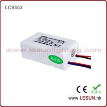 Aprobación del CE 1-3 * 3W LED actual constante / fuente de alimentación LC9703