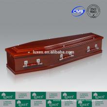 LUXES Australian Popular Cedar Paper Coffins Wholesale Coffins
