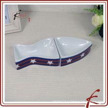 Керамическая миска для рыбы