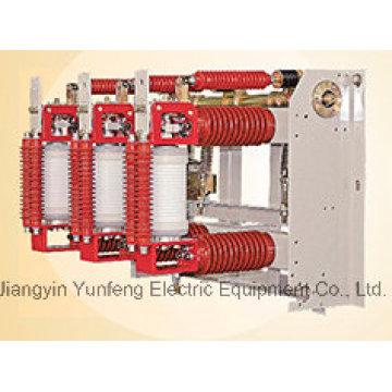 Disyuntor de alto voltaje del vacío del uso interior 24kv con el desconectador
