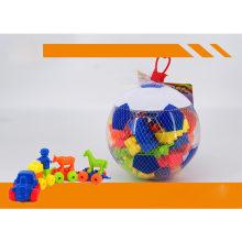 Promoção Brinquedo Educacional Toy Football Jar Blocos de Construção