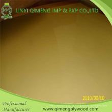 Madeira compensada amarela do poliéster de 1220X2440mm 1.6mm 2.2mm 2.6mm para o mercado de Indonésia
