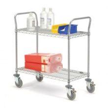 Ajustável NSF Hospital Medical Storage Metal Cart