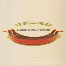 Esmalte de hierro fundido Pan de pescado Fabricante De China
