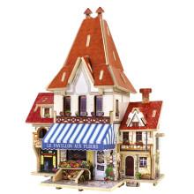 Brinquedos de brinquedos de madeira para casas globais-France Flower Store