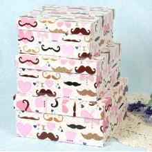 Humorous Stubble Design Printing Gift Box