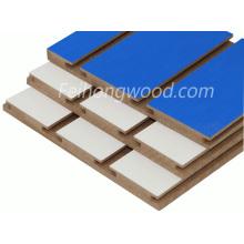 Желобчатых МДФ (средней плотности firbreboard) для мебели