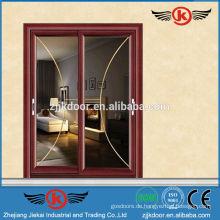 JK-AW9120 Aluminium-Rahmen Tür Schiebetür von hoher Qualität