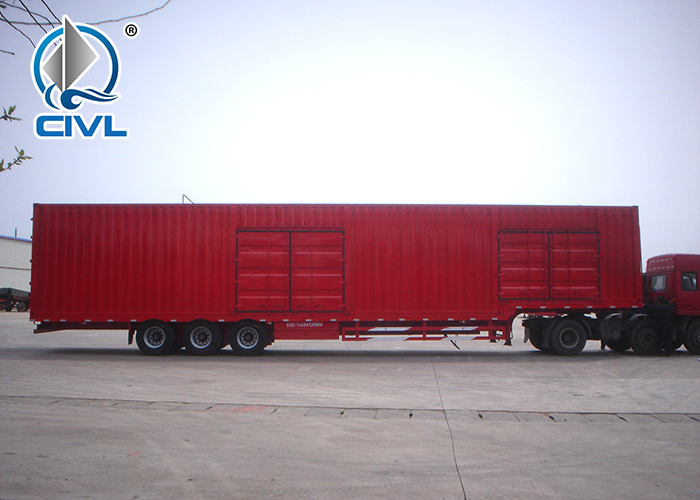 3 Axle Van Semi Trailer 1