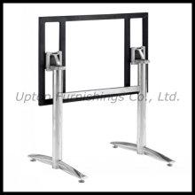 Прямоугольник из нержавеющей стали складной стол нога (СП-STL032)