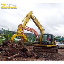 Excavator Mechanical Timber Grab