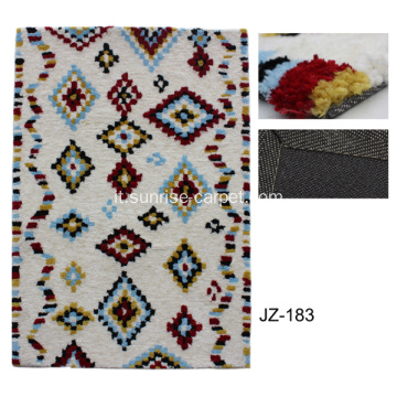 Pannello in poliestere con moquette in tufted di design