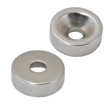 Neodym-Magneten mit Gegenbohrungen