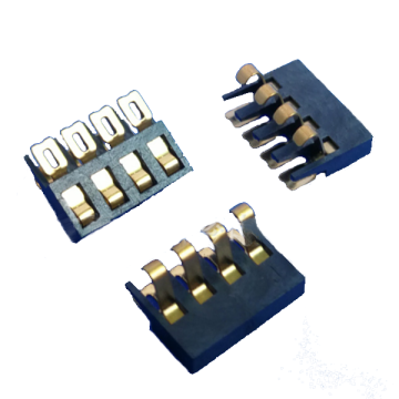 2.0PITCH 4PIN BATTERIJCONNECTOR