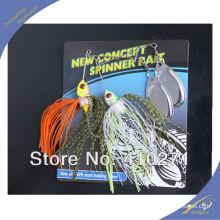 SPL004 al por mayor spinner cebo gran cantidad de señuelos de pesca baratos spinner cebo señuelos de pesca