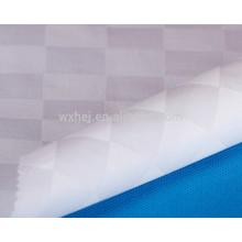 Wholesale pas cher coton blanc vérifier le tissu de conception