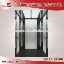 Espelho polido St / St vidro passageiro elevador elevador