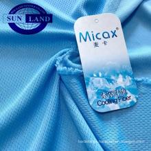 100% nylon cold feeling bird eye mesh fabric for sportswear