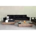 High Standard Wicker Furniture Water Hyacinth Sofa Set for Indoor Living Room