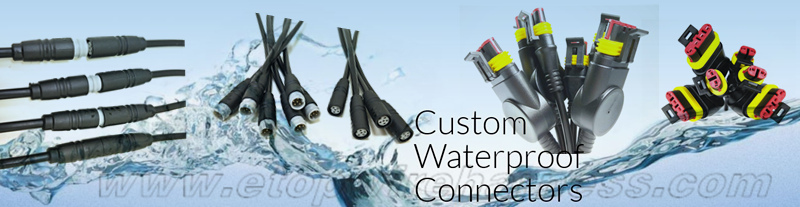 custom waterproofing connectors